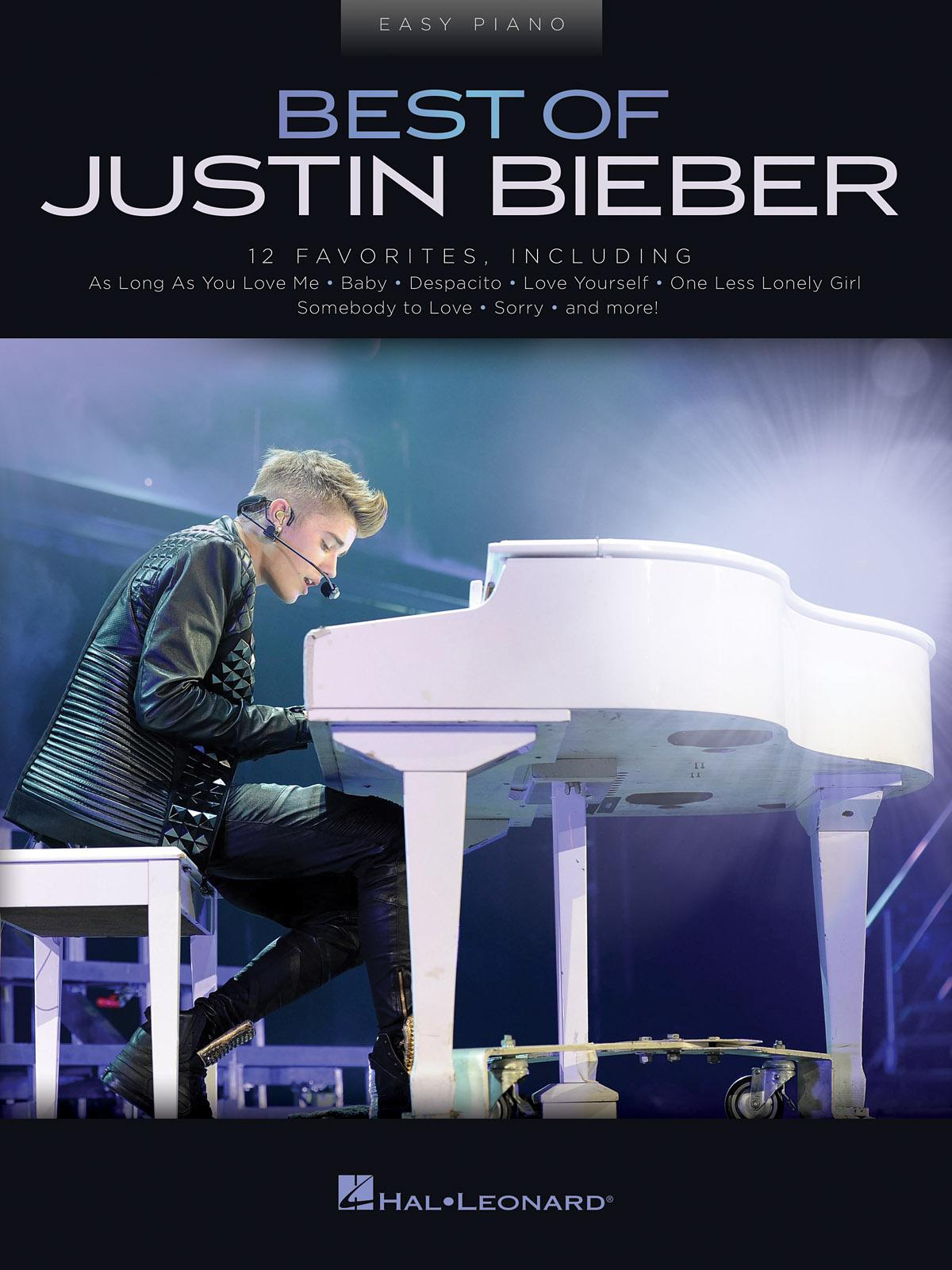 Justin Bieber: Best of Justin Bieber: Easy Piano: Artist Songbook