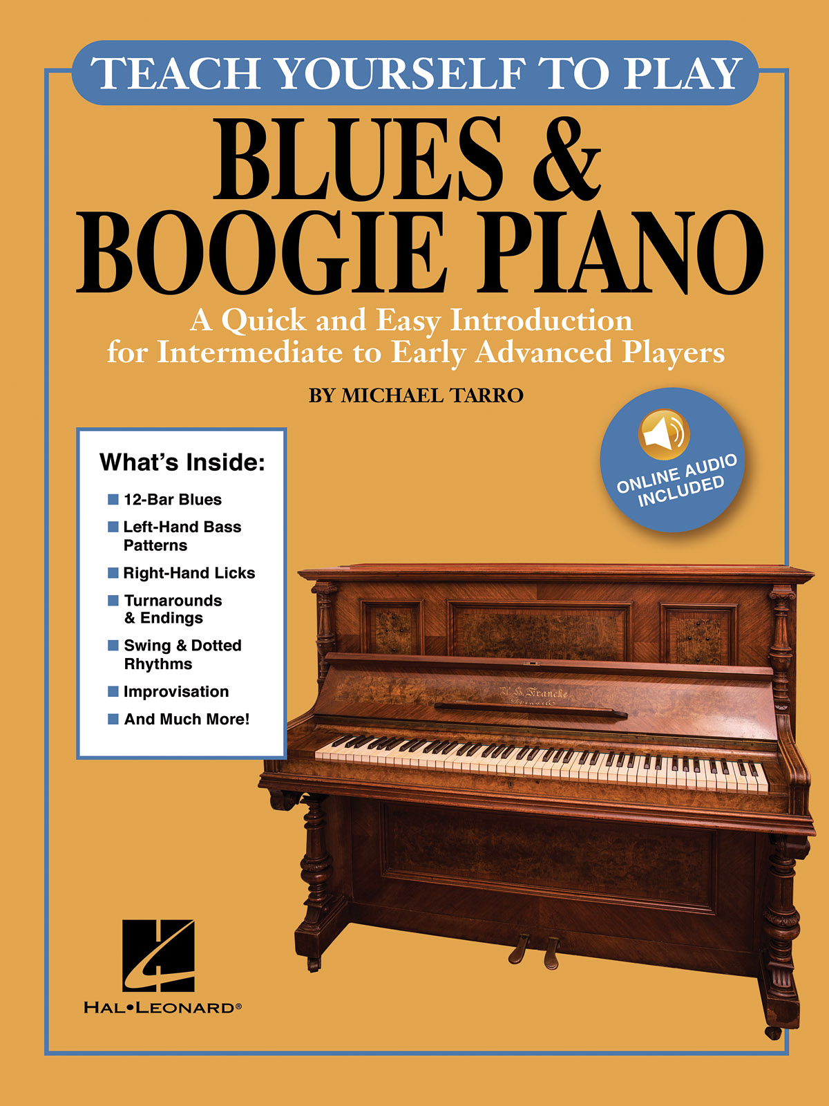 Michael Tarro: Teach Yourself to Play Blues & Boogie Piano: Piano: Instrumental