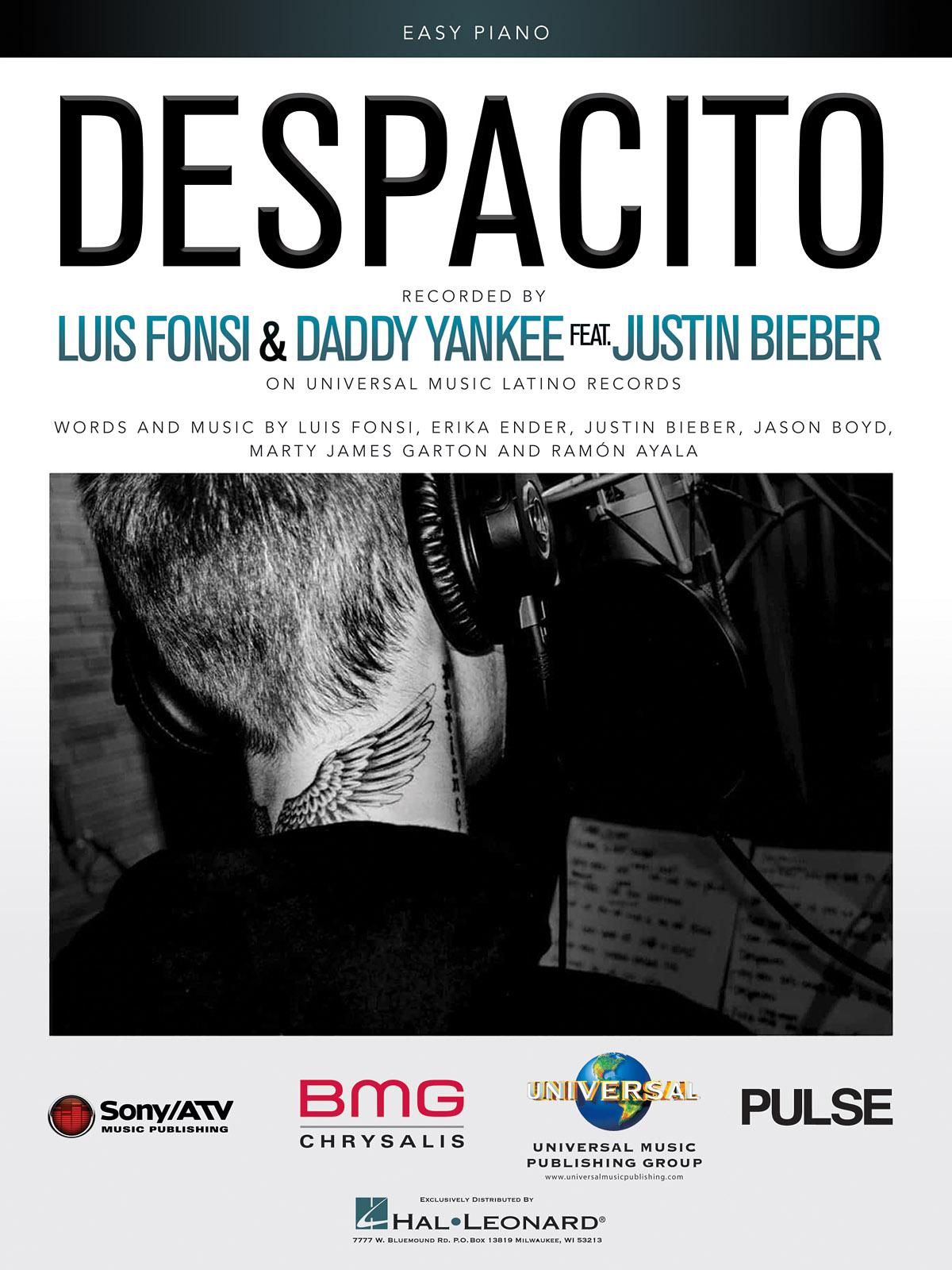 Luis Fonsi Daddy Yankee: Despacito: Easy Piano: Single Sheet