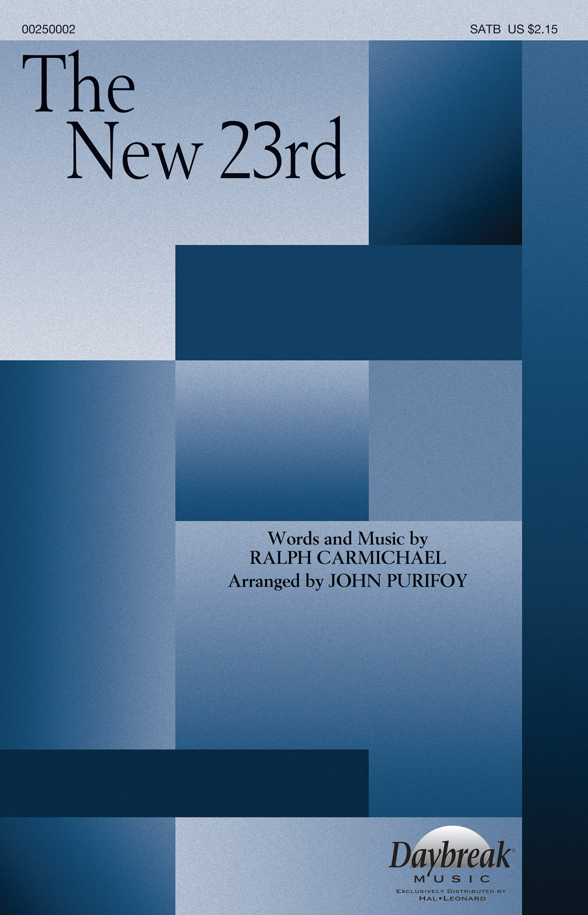 Ralph Carmichael: The New 23rd: Mixed Choir a Cappella: Vocal Score