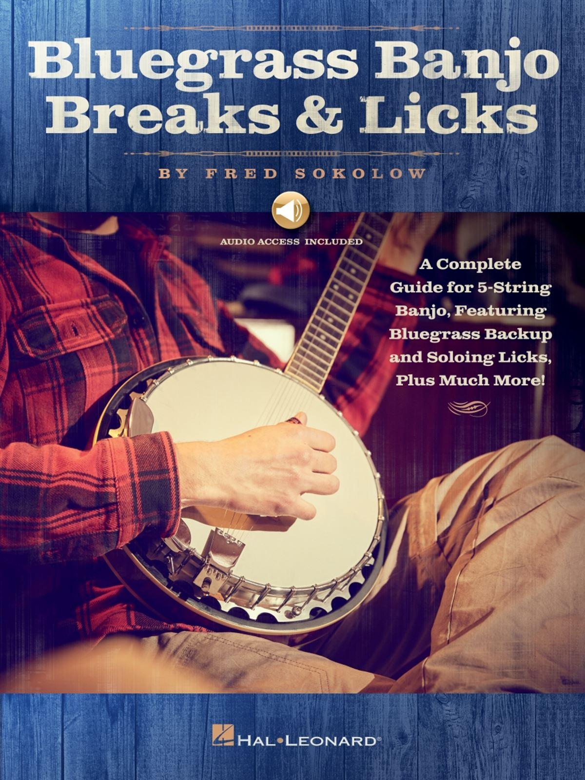 Bluegrass Banjo Breaks & Licks: Banjo: Instrumental Album