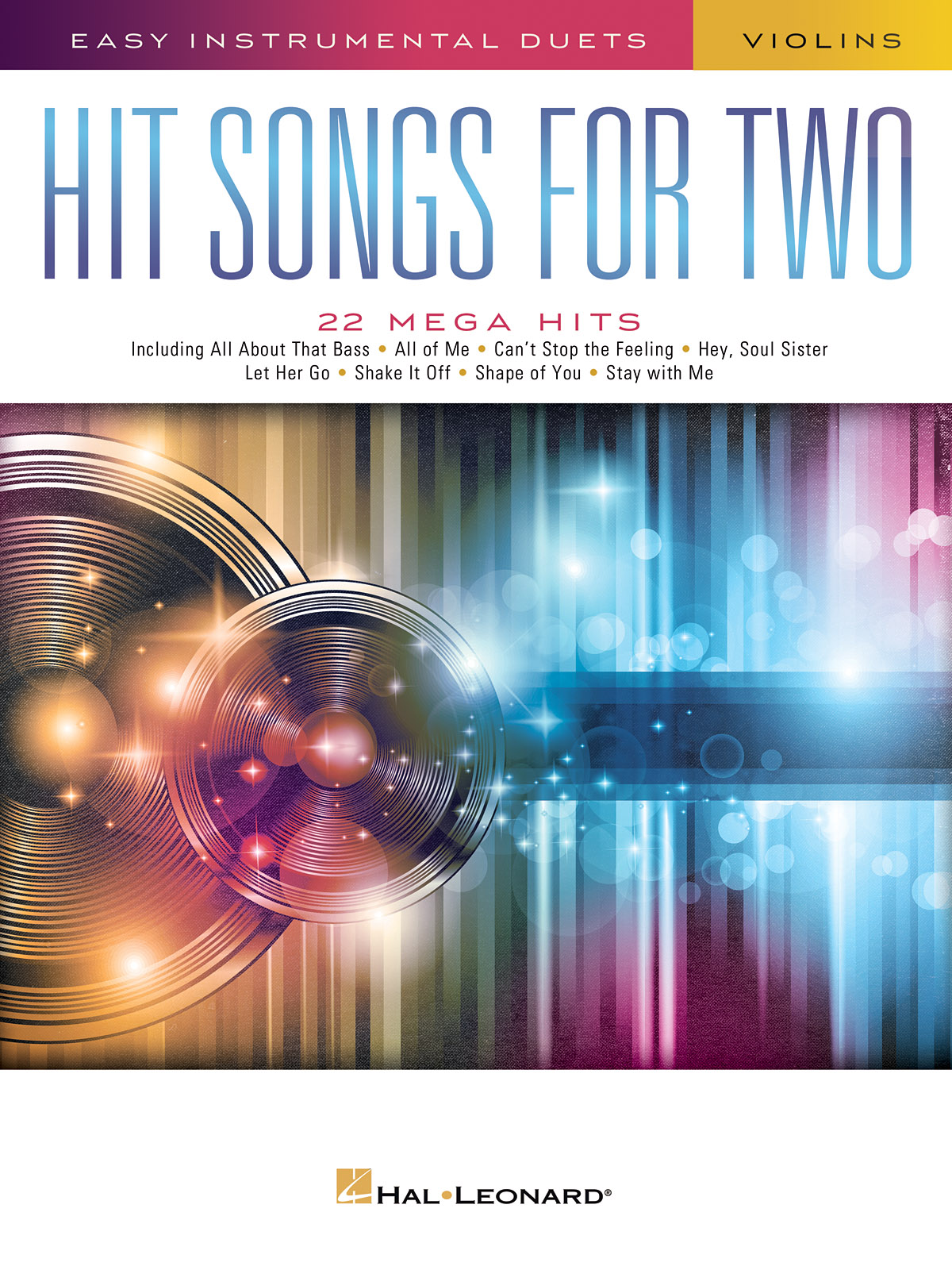 Hit Songs for Two Violins: Violin Solo: Instrumental Work