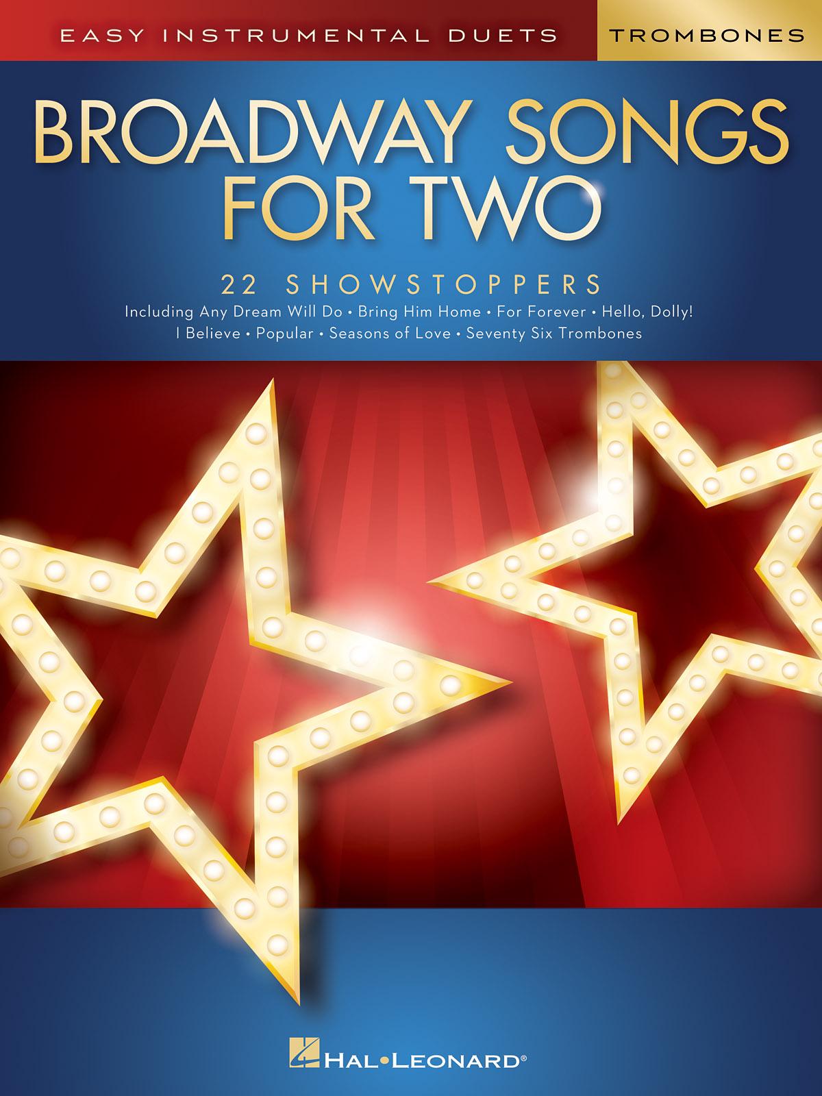 Broadway Songs for Two Trombones: Trombone Duet: Instrumental Album