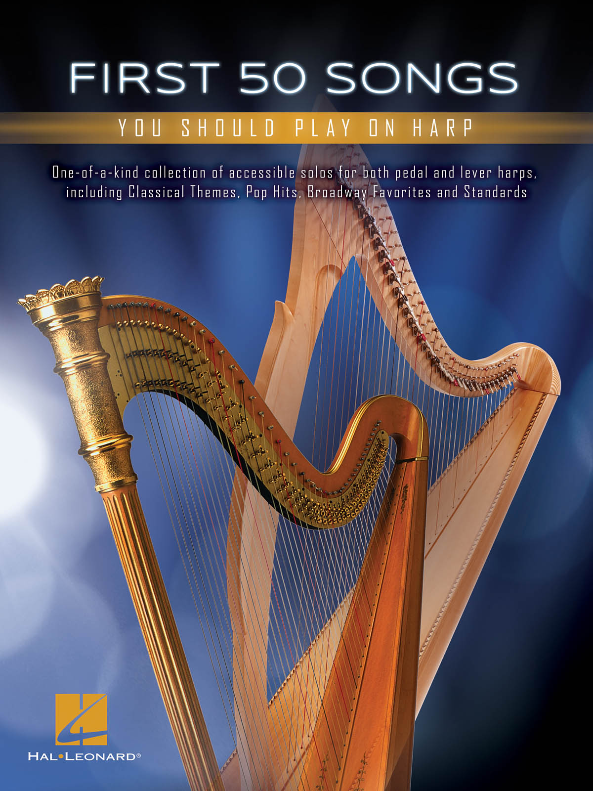 First 50 Songs You Should Play on Harp: Harp Solo: Instrumental Album