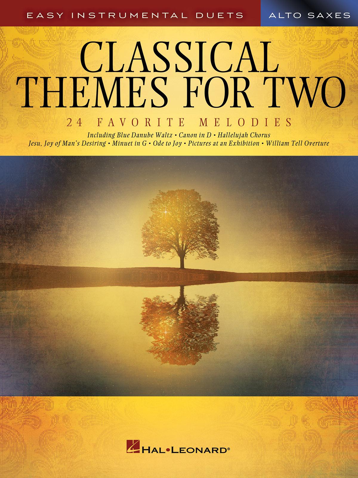 Classical Themes for Two Alto Saxophones: Alto Saxophone: Instrumental Album
