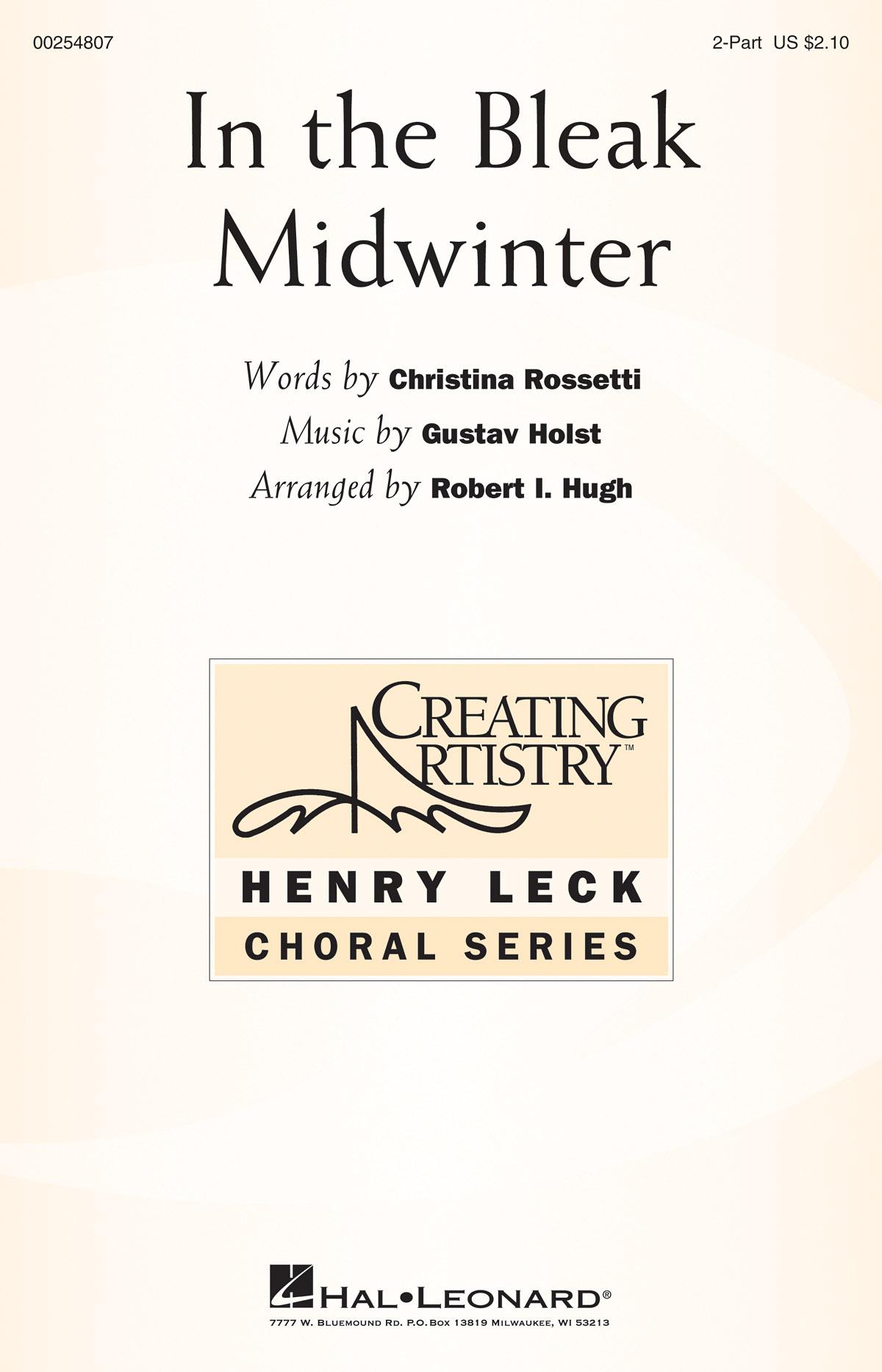 In the Bleak Midwinter: Mixed Choir a Cappella: Vocal Score