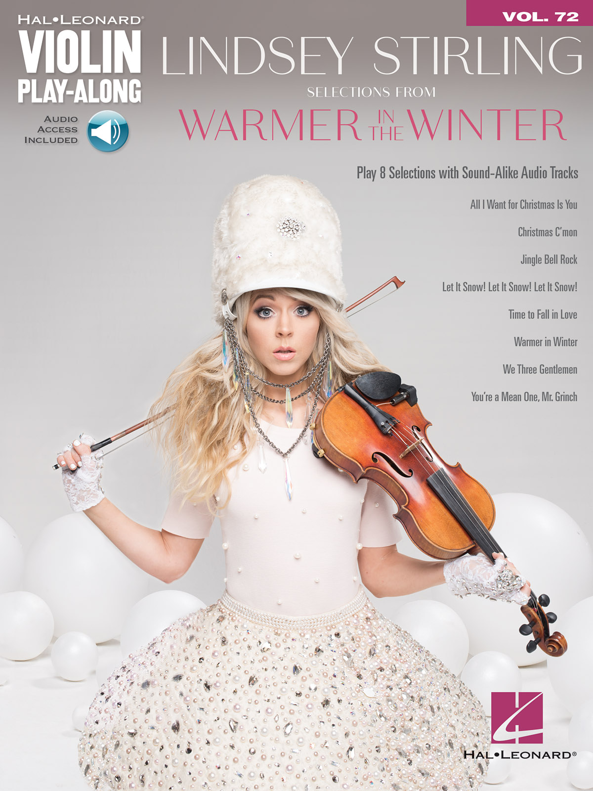 Lindsey Stirling: Selections from Warmer in the Winter: Violin Solo: