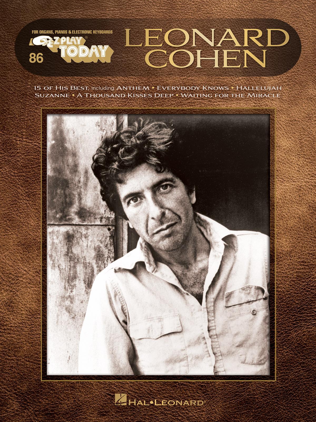 Leonard Cohen: Piano: Artist Songbook