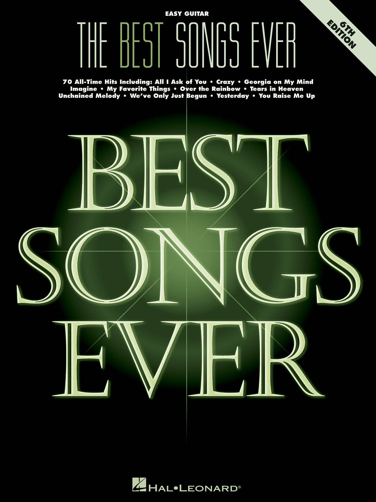 The Best Songs Ever - 6th Edition: Guitar Solo: Instrumental Album