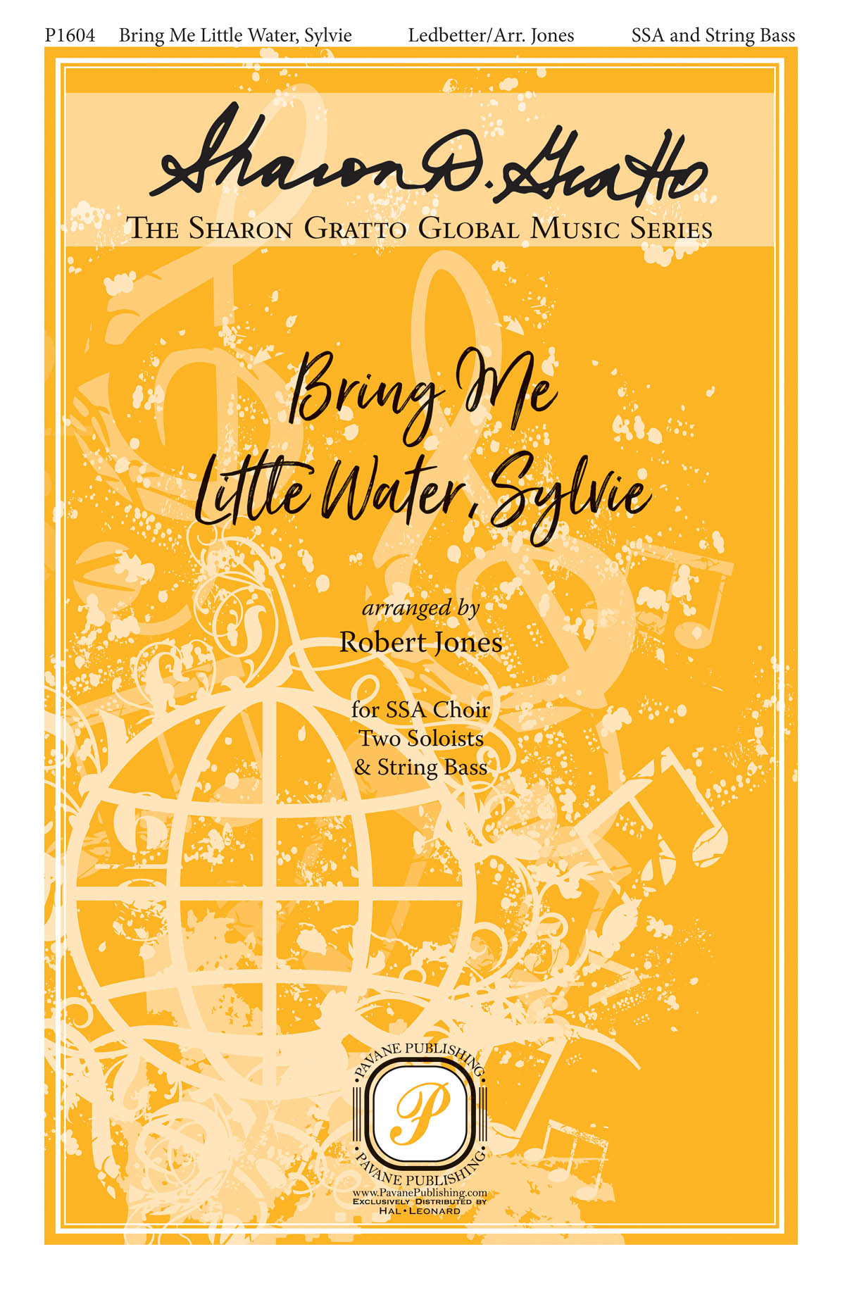 Huddie 'Lead Belly' Ledbetter: Bring Me Little Water  Sylvie: Upper Voices a