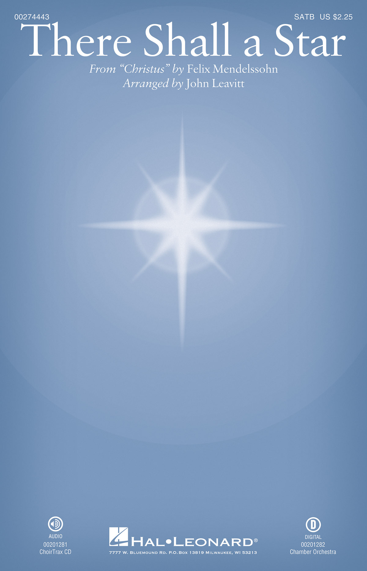 Felix Mendelssohn Bartholdy: There Shall a Star: Mixed Choir a Cappella: Vocal