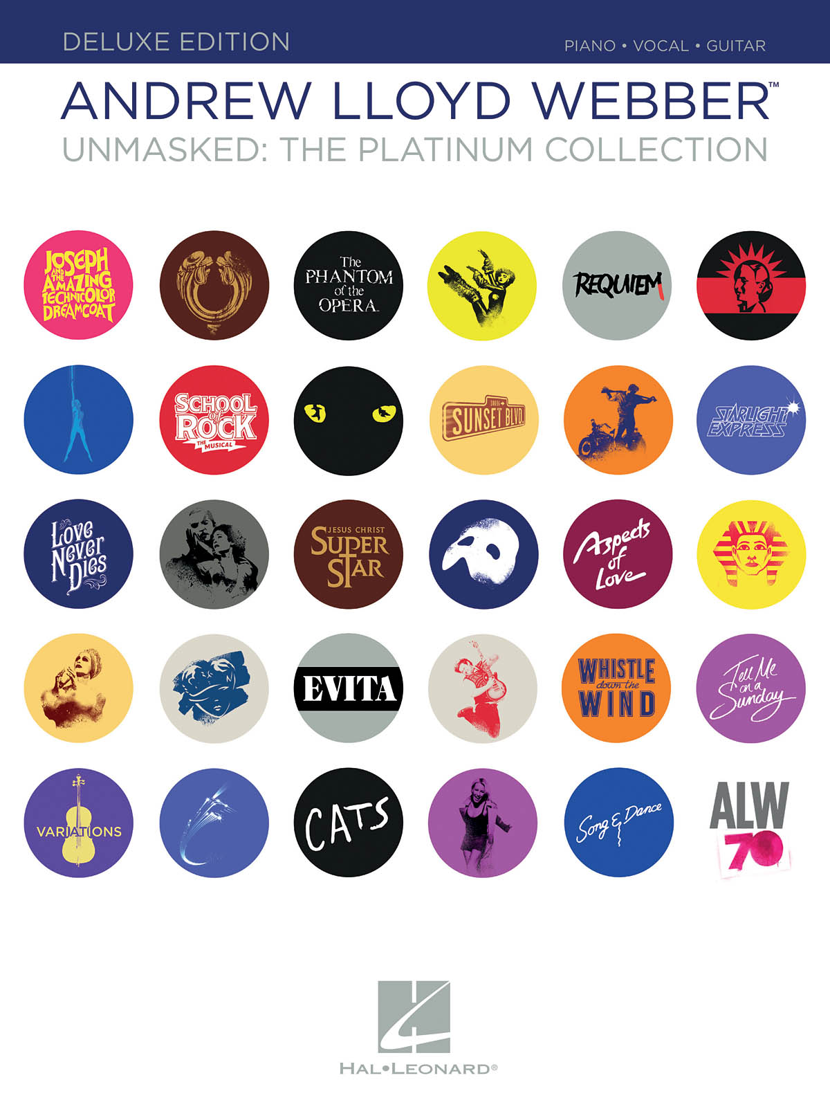 Andrew Lloyd Webber: Unmasked - The Platinum Collection: Piano  Vocal and
