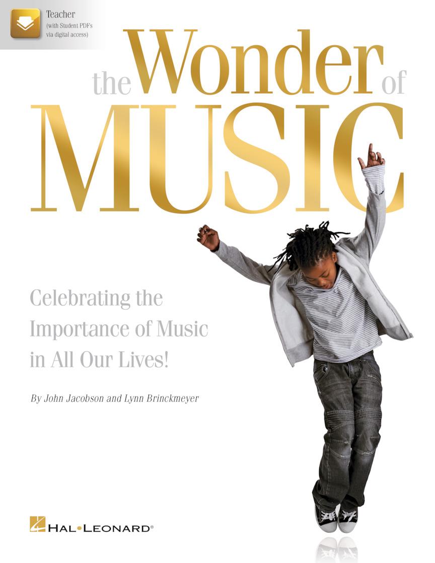 John Jacobson Lynn Brinckmeyer: The Wonder of Music: Mixed Choir a Cappella: