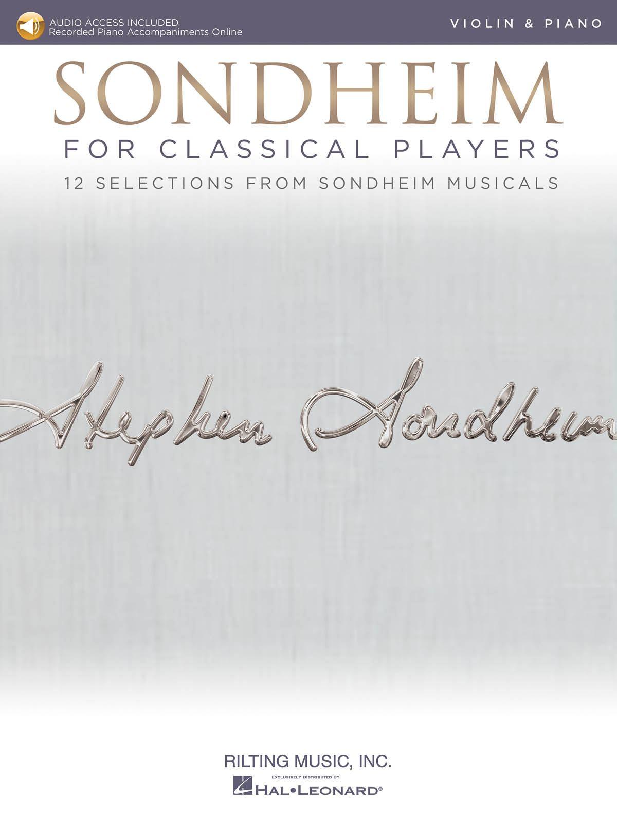 Stephen Sondheim: Sondheim for Classical Players: Violin and Accomp.: Artist