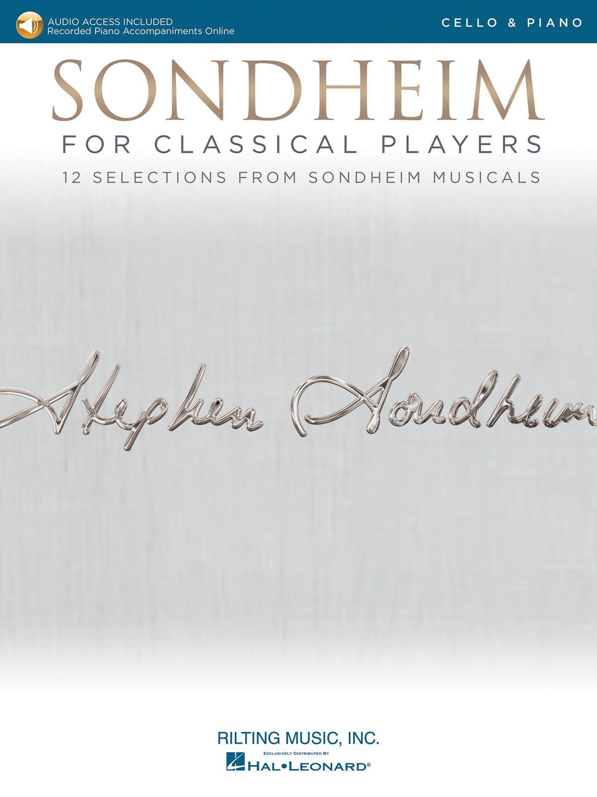 Stephen Sondheim: Sondheim for Classical Players: Cello and Accomp.: Artist