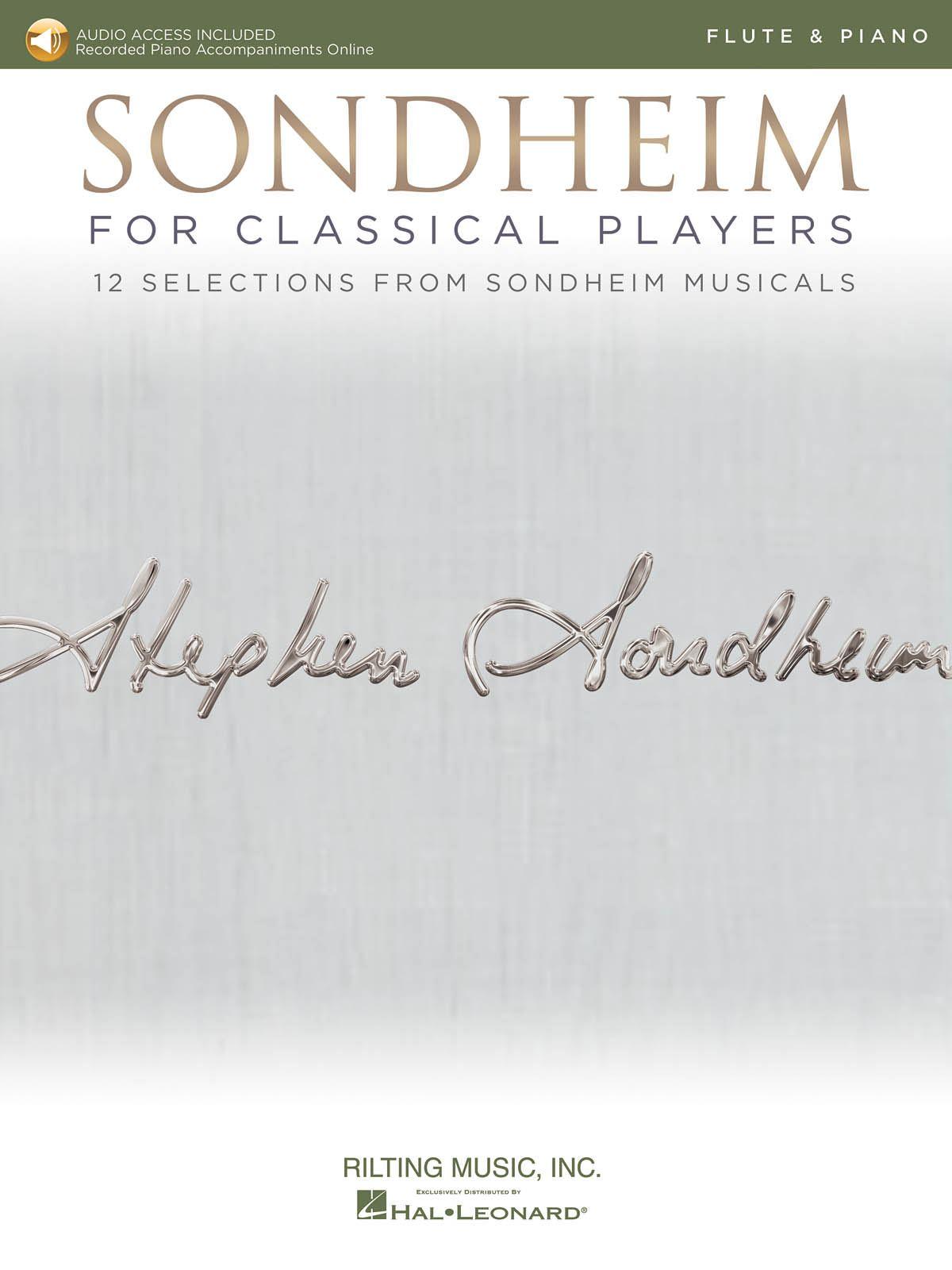 Stephen Sondheim: Sondheim For Classical Players - Flute: Flute and Accomp.: