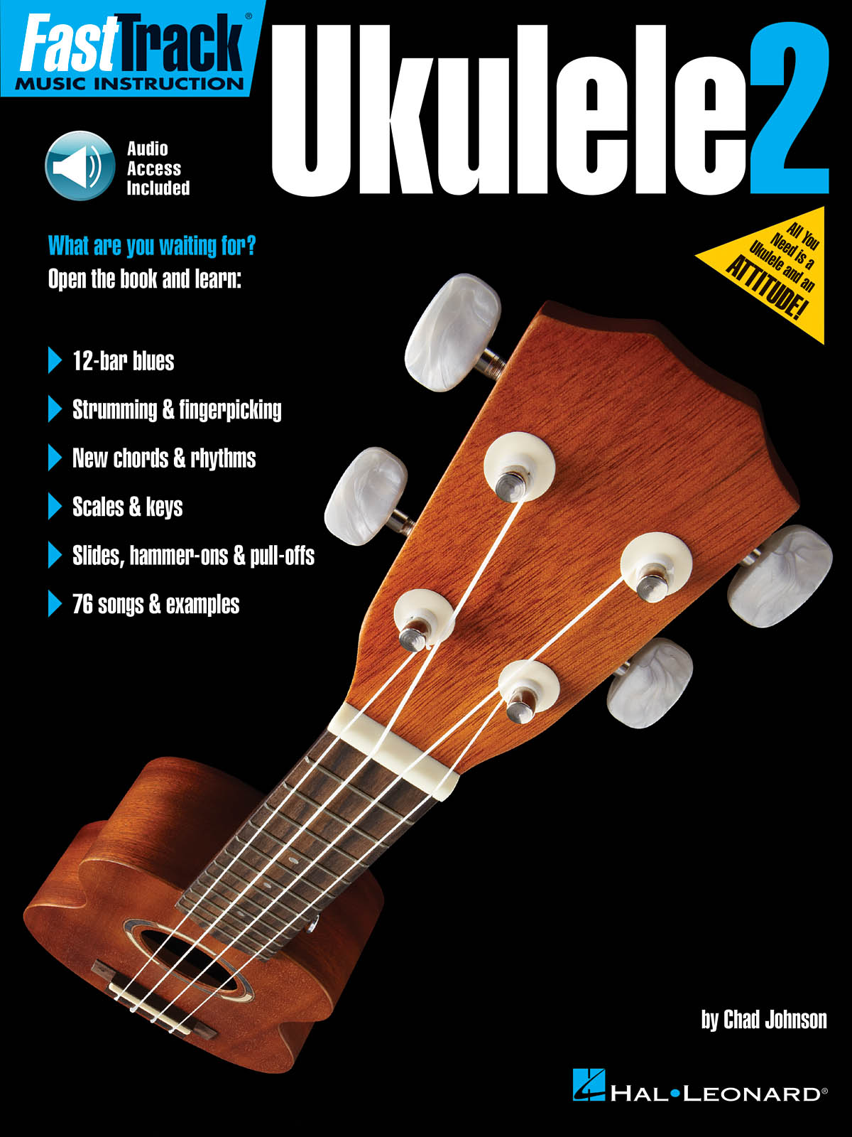 FastTrack Ukulele Method - Book 2: Ukulele Solo: Instrumental Tutor