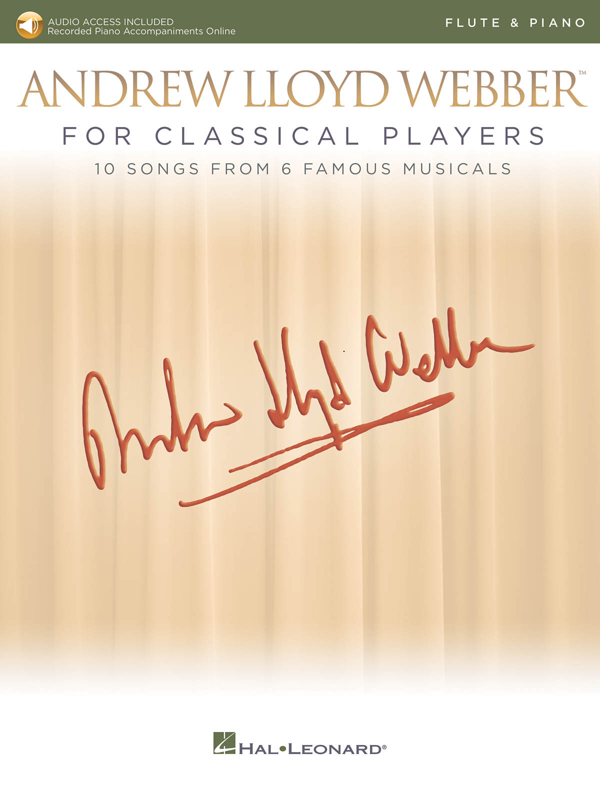 Andrew Lloyd Webber: Andrew Lloyd Webber for Classical Players: Flute and