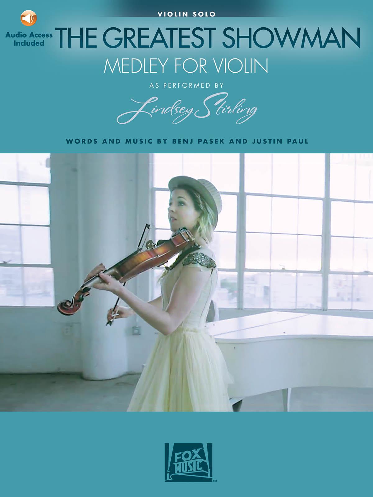 Benj Pasek Justin Paul: The Greatest Showman - Medley For Violin: Violin Solo: