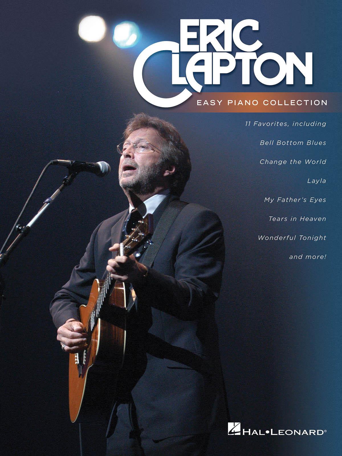 Eric Clapton: Eric Clapton - Easy Piano Collection: Piano: Instrumental Album