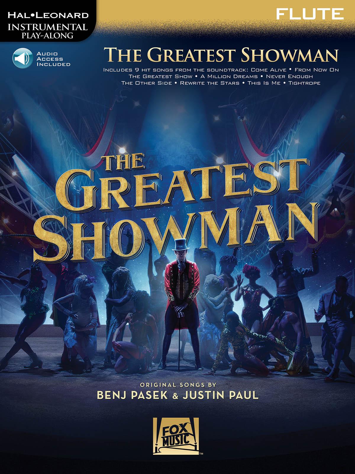 Benj Pasek Justin Paul: The Greatest Showman - Flute: Flute Solo: Backing Tracks