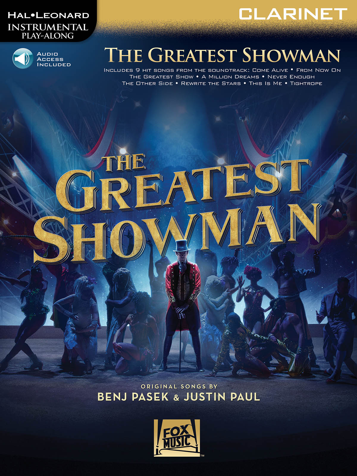 Instrumental Play-Along: The Greatest Showman - Clarinet (Book/Online Audio) (Hal-Leonard Instrumental Play-Along)