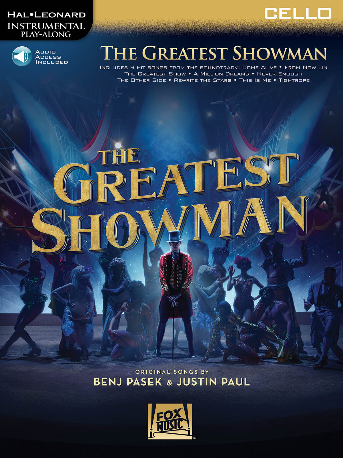 Benj Pasek Justin Paul: The Greatest Showman - Cello: Cello Solo: Backing Tracks