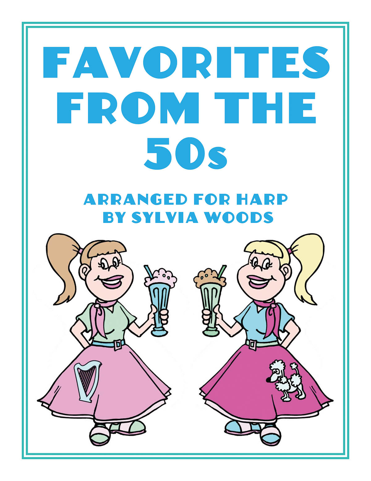 Favorites from the 50s: Harp Solo: Instrumental Work