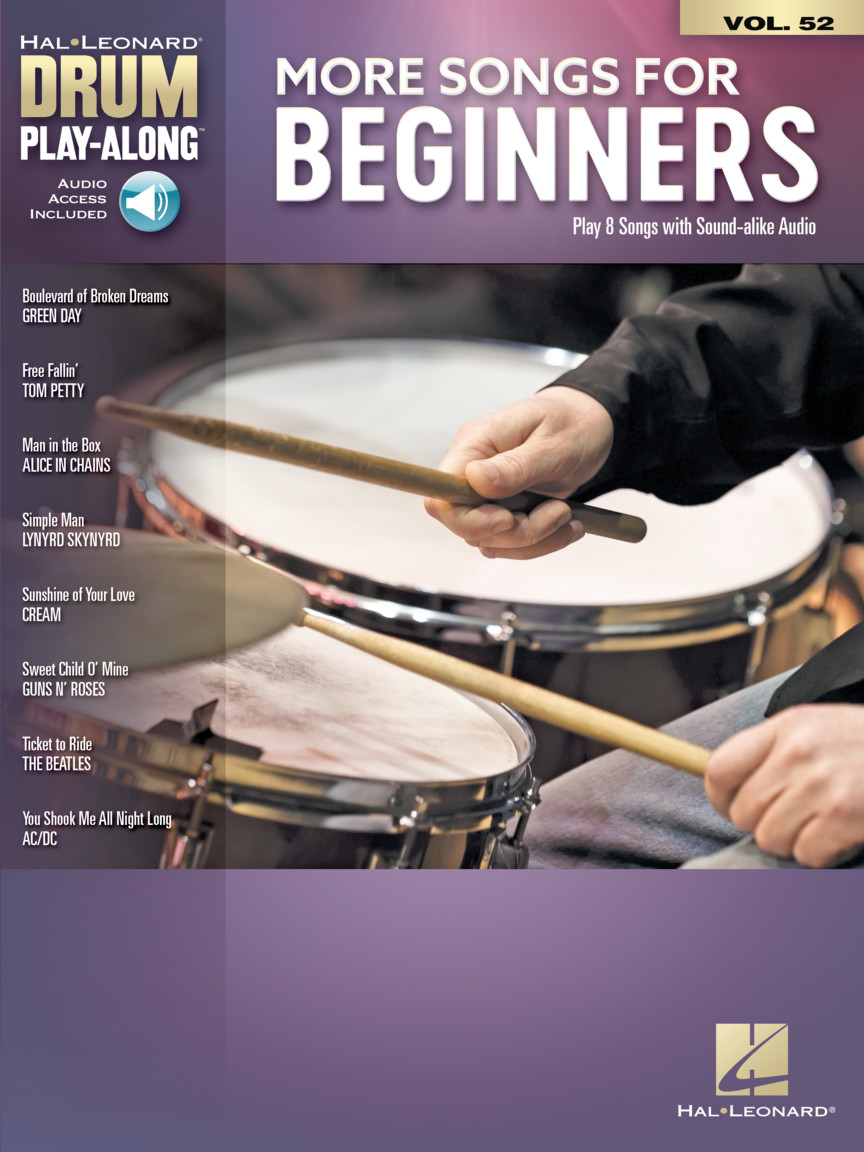 More Songs for Beginners: Drums: Instrumental Album