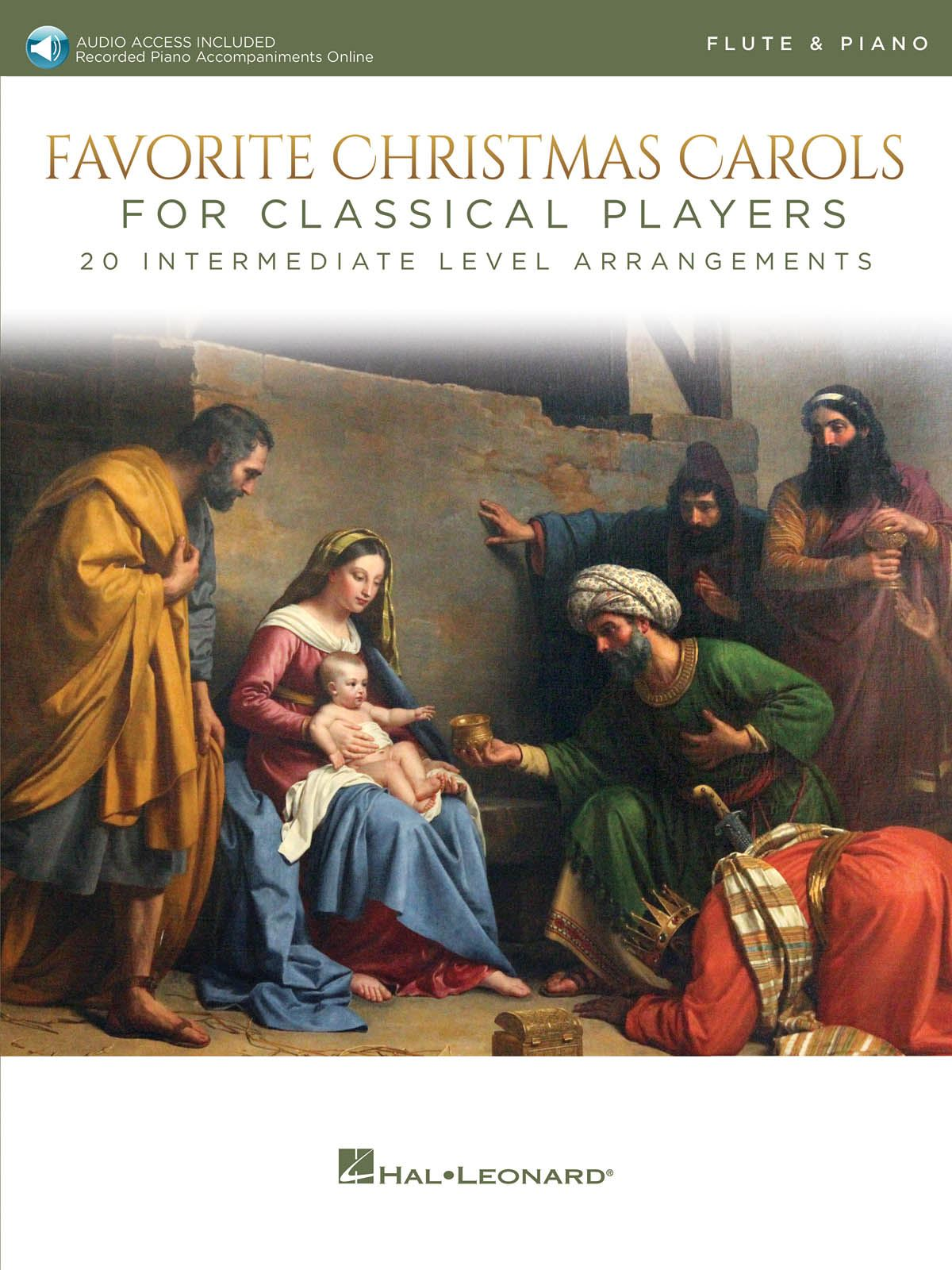 Favorite Christmas Carols for Classical Players: Flute and Accomp.: Instrumental