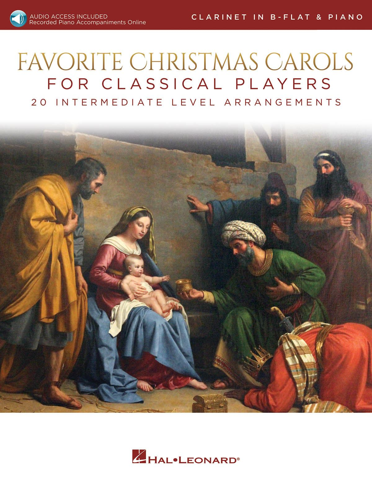 Favorite Christmas Carols for Classical Players: Clarinet and Accomp.: