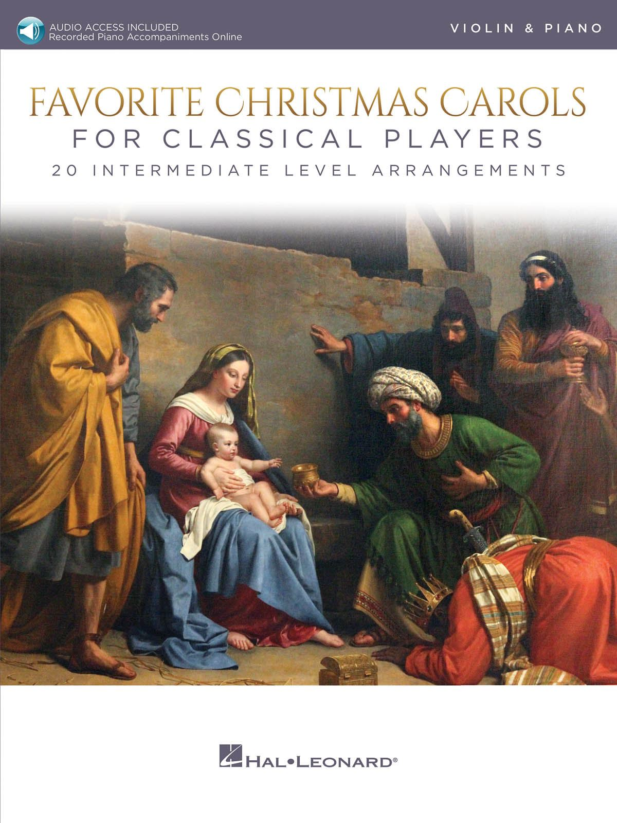 Favorite Christmas Carols for Classical Players: Violin and Accomp.:
