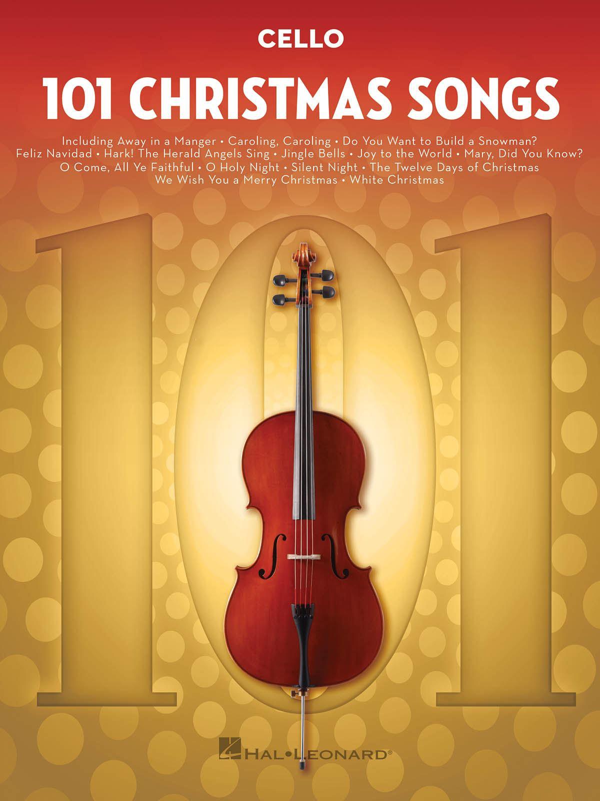 101 Christmas Songs: Cello Solo: Instrumental Album