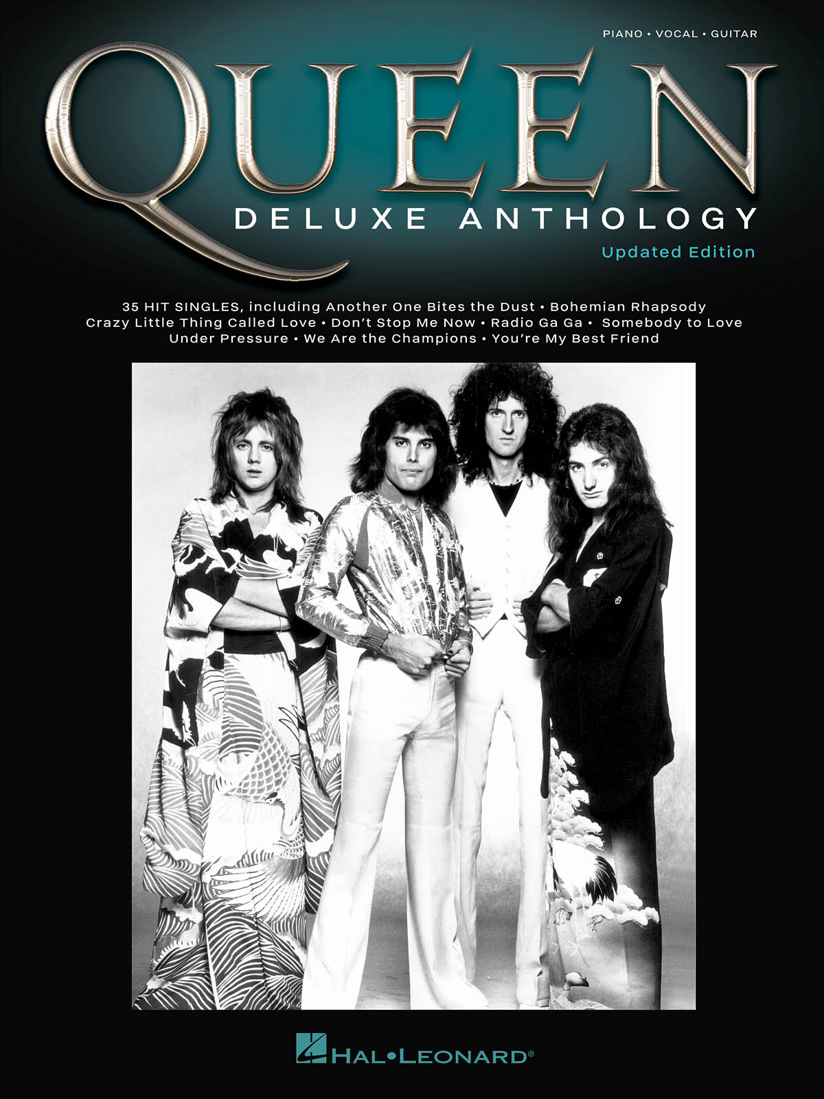Queen: Queen - Deluxe Anthology: Piano  Vocal and Guitar: Artist Songbook