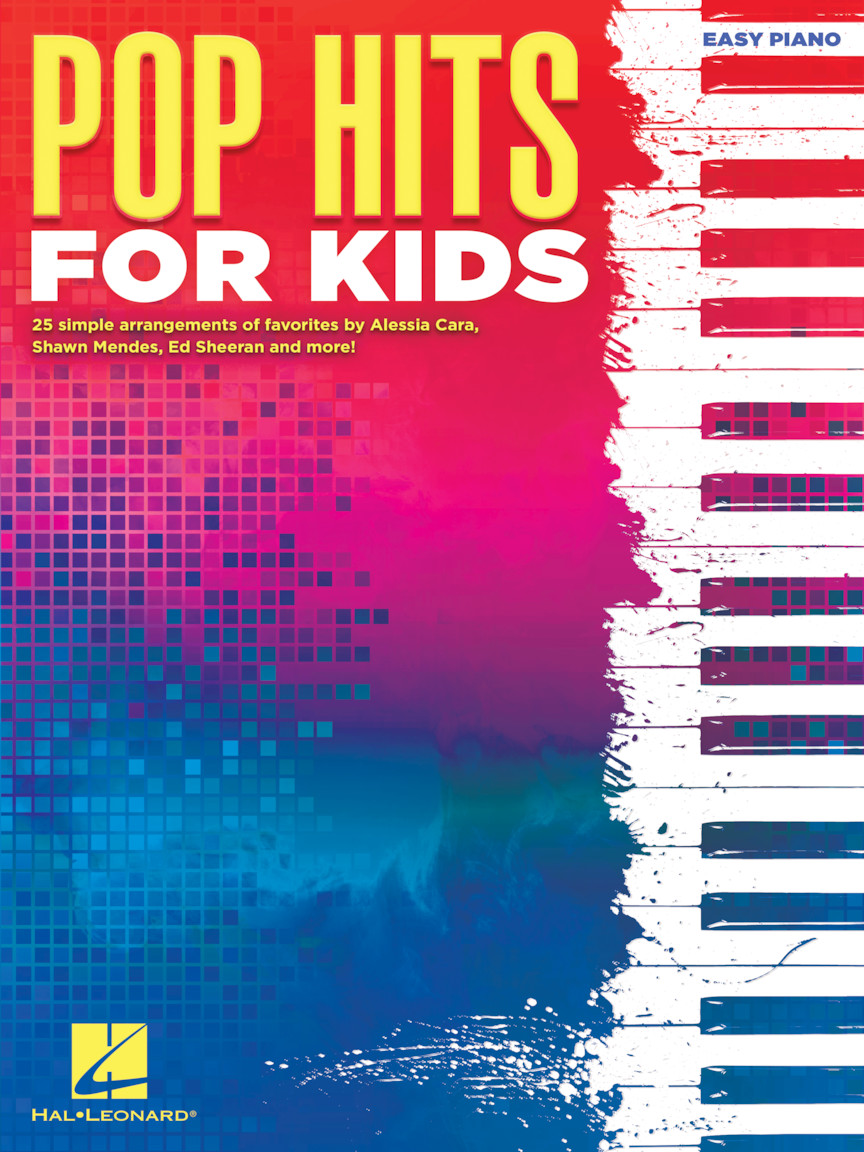 Pop Hits for Kids: Easy Piano: Instrumental Album