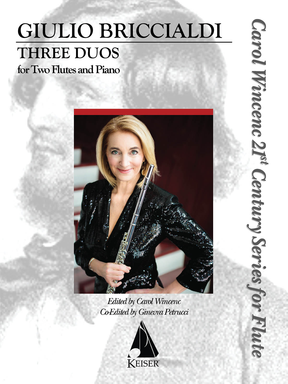 Giulio Briccialdi: Three Duos for Two Flutes and Piano: Flute Duet: Instrumental