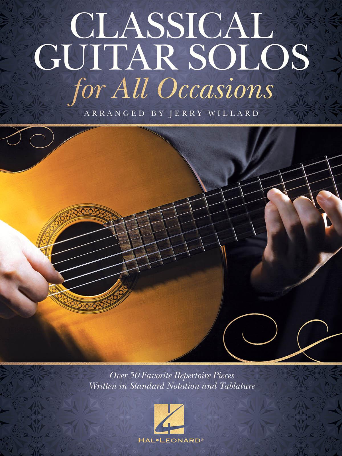 Classical Guitar Solos for All Occasions: Guitar Solo: Instrumental Album
