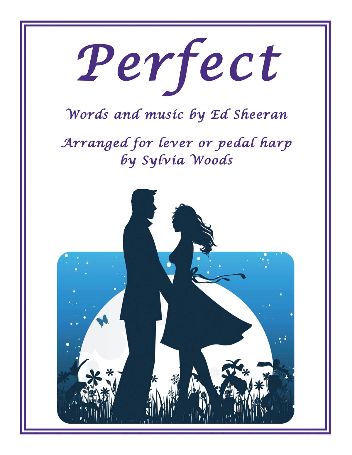 Ed Sheeran: Perfect: Harp Solo: Instrumental Work