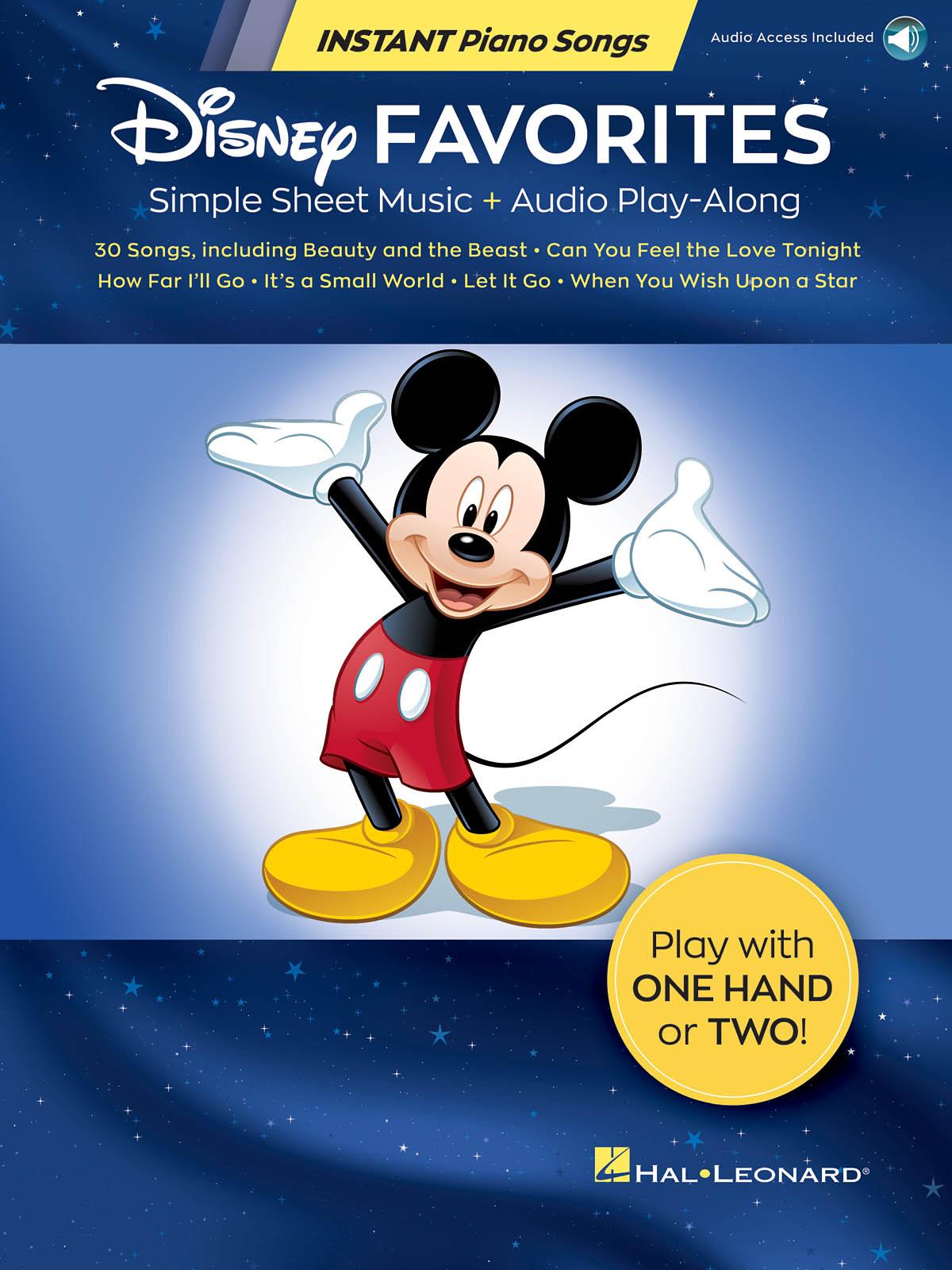 Disney Favorites - Instant Piano Songs: Piano