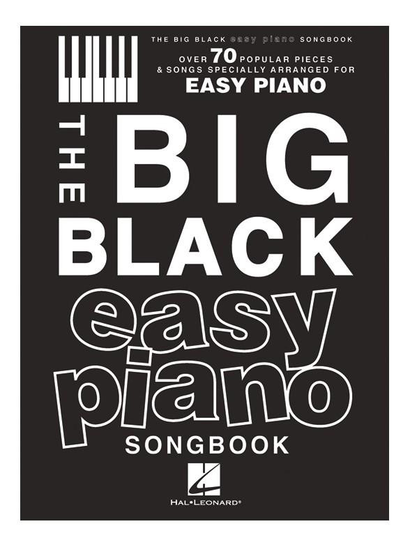 The Big Black Easy Piano Songbook: Piano: Instrumental Album
