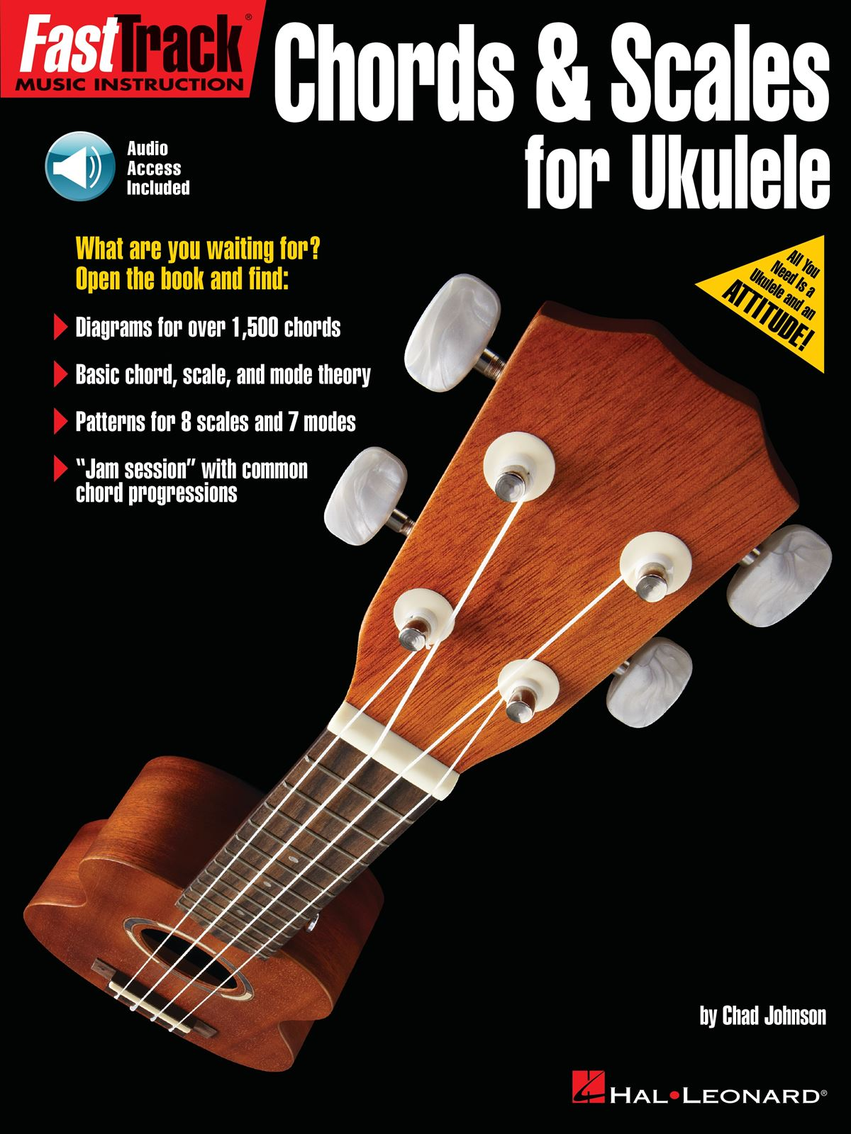 FastTrack - Chords & Scales for Ukulele: Ukulele Solo: Instrumental Tutor