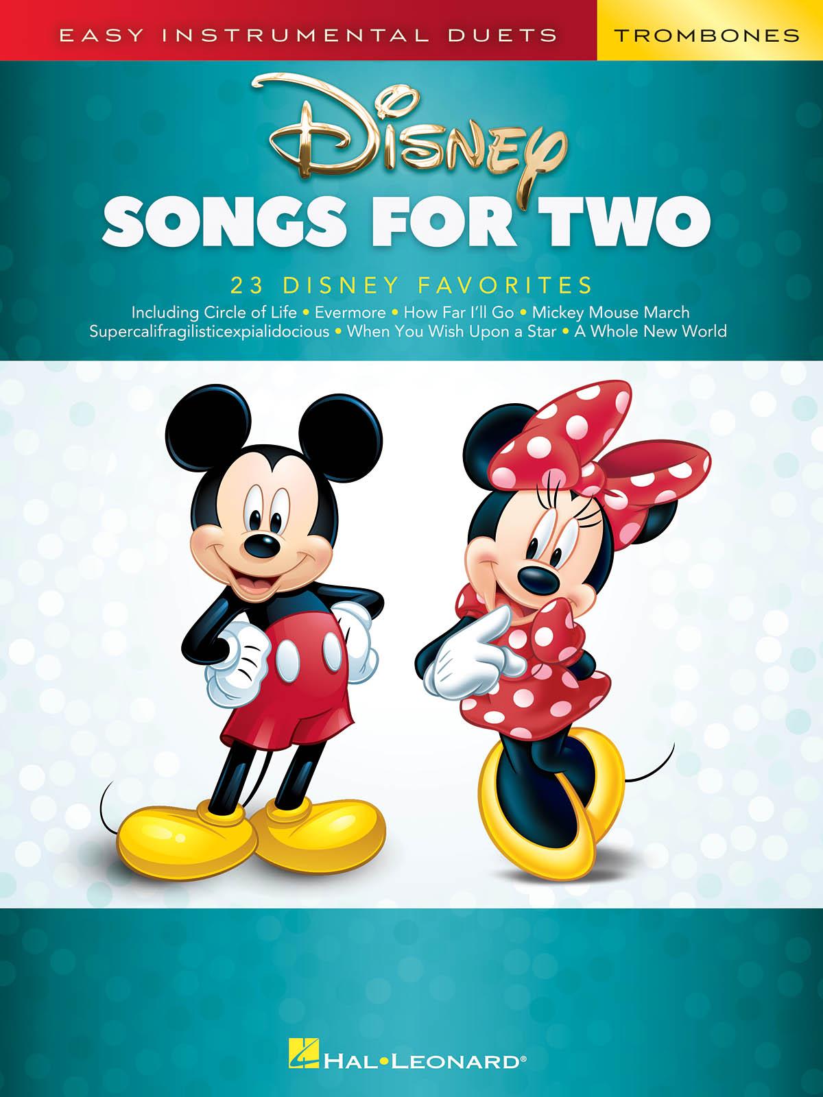 Disney Songs for Two Trombones: Trombone Duet: Instrumental Album