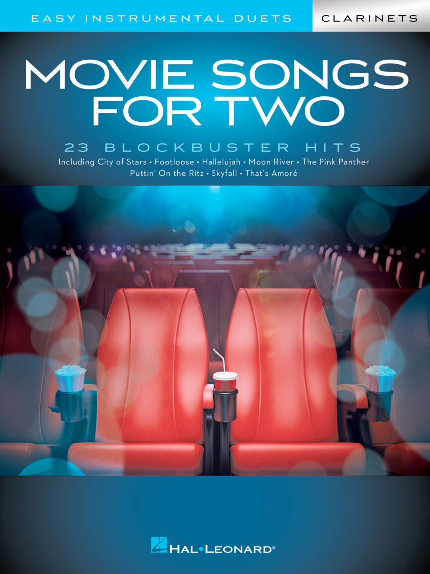 Movie Songs for Two Clarinets: Clarinet Duet: Instrumental Album