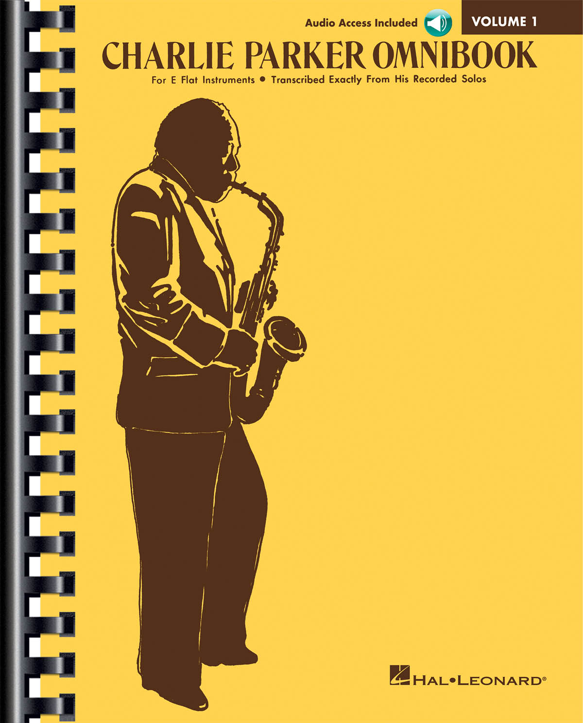 Charlie Parker: Charlie Parker Omnibook - Volume 1: E Flat Instrument