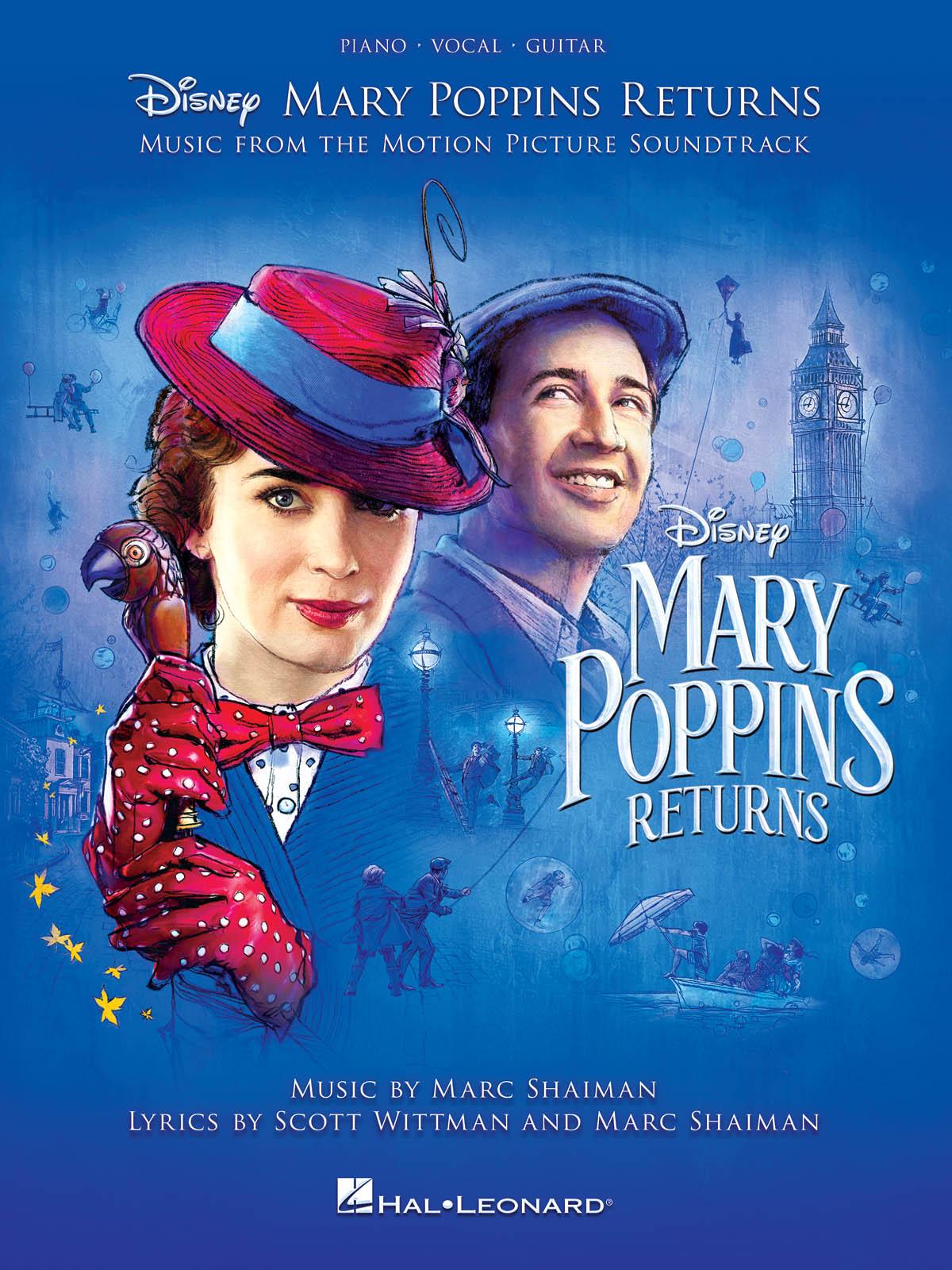 Marc Shaiman Scott Wittman: Mary Poppins Returns: Piano  Vocal and Guitar: Album