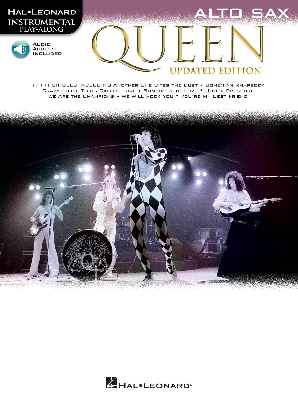 Queen: Queen - Alto Saxophone (Book/Audio): Alto Saxophone: Artist Songbook