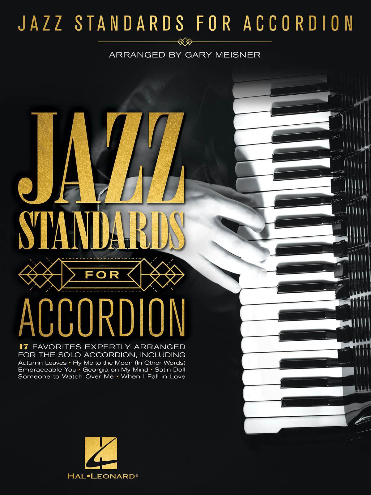 Jazz Standards for Accordion: Accordion Solo: Instrumental Album