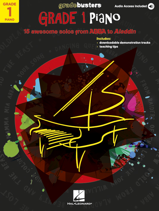 Gradebusters Grade 1 - Piano: Piano: Instrumental Album