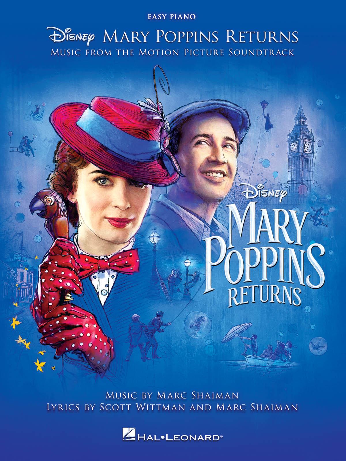 Marc Shaiman Scott Wittman: Mary Poppins Returns: Easy Piano: Instrumental Album