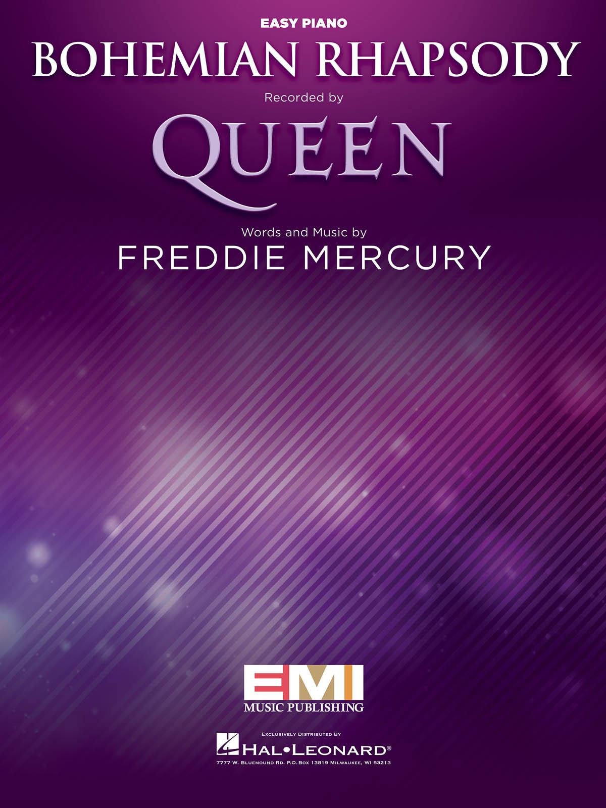 Freddie Mercury: Bohemian Rhapsody: Piano Solo